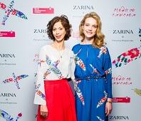 Елена Тарасова, директор бренда ZARINA и Наталья Водянова