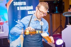 Победитель этапа Пиво Балтика-раунд Александр Юрченко