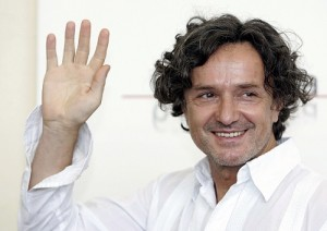 """VENICE, ITALY - SEPTEMBER 06: Actor Goran Bregovic attends the photcall for the in competition film """"I Giorni Dell' Abbandono"""" on the seventh day of the 62nd Venice Film Festival on September 6, 2005 in Venice, Italy. (Photo by Chris Jackson/Getty Images)"""