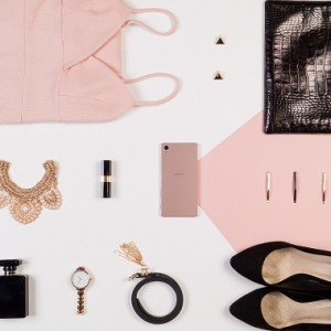 Pink Z5 lifestyle