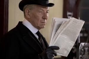 Mr. Holmes (2015), for Roadside Attractions and Miramax®. Ian McKellen as Sherlock Holmes.